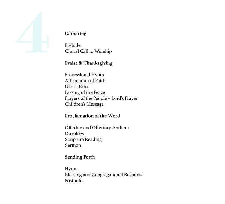 5 Creative Worship Order Templates | @ashleydanyew