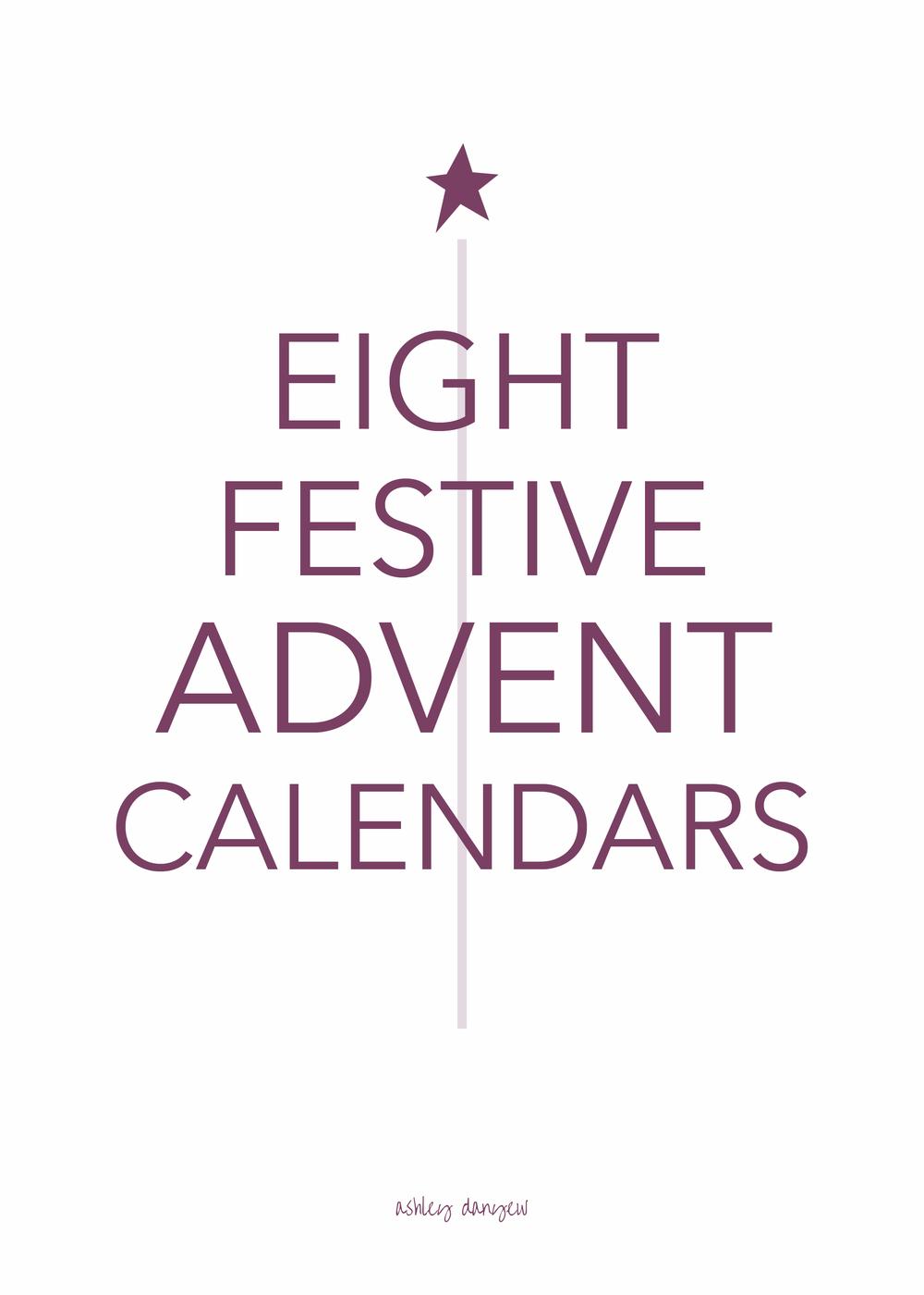 Copy of 8 Festive Advent Calendars