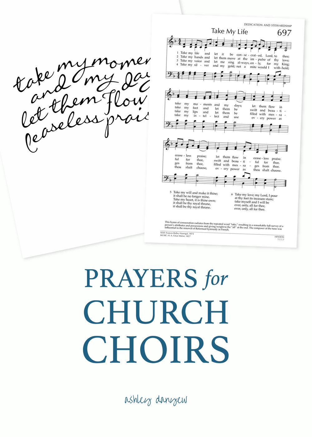 Copy of Prayers for Church Choirs