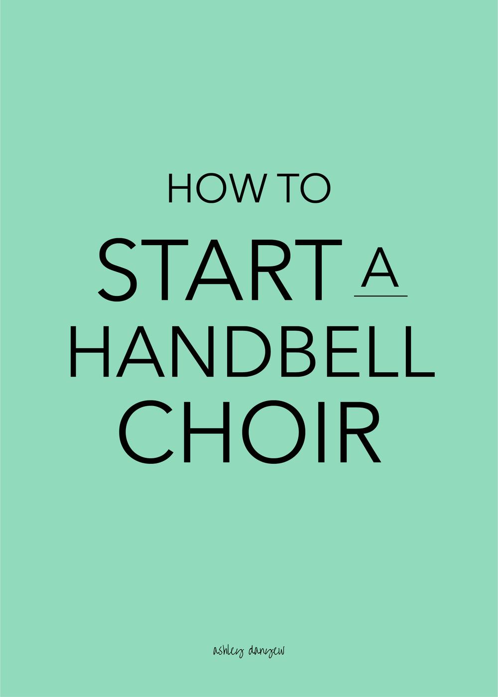 Copy of How to Start a Handbell Choir