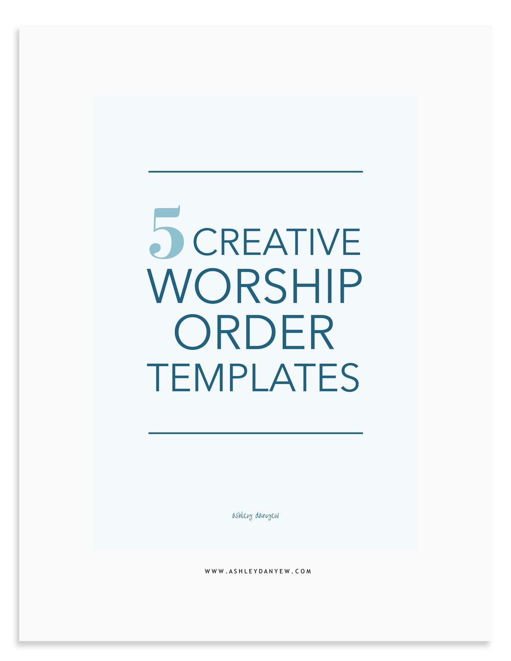 5 Creative Worship Order Templates.png