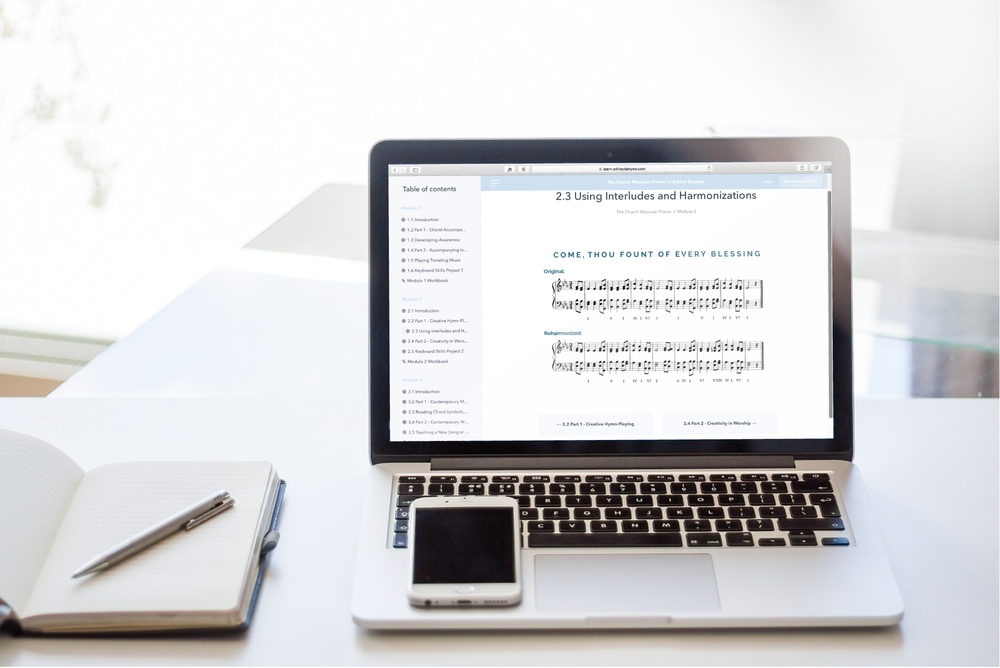 The Church Musician Primer - an online keyboard skills class for church pianists and organists.png