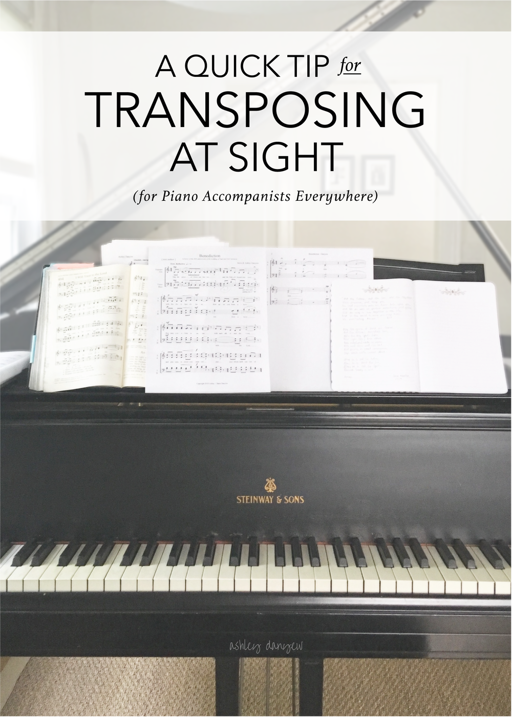 A Quick Tip for Transposing at Sight (for Piano Accompanists Everywhere)