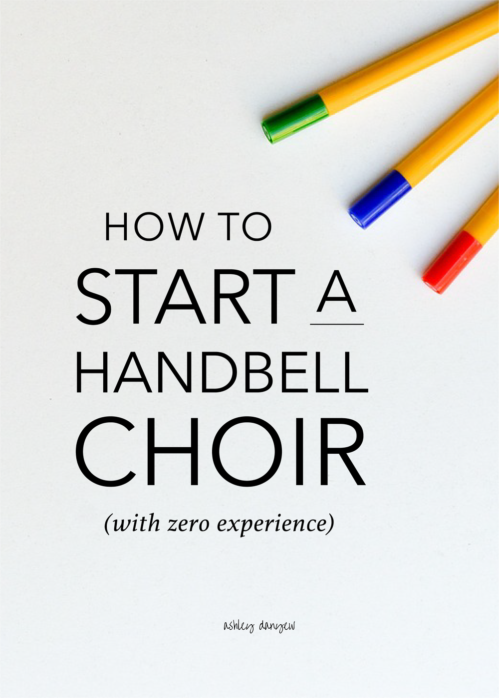 How to Start a Handbell Choir (with Zero Experience)