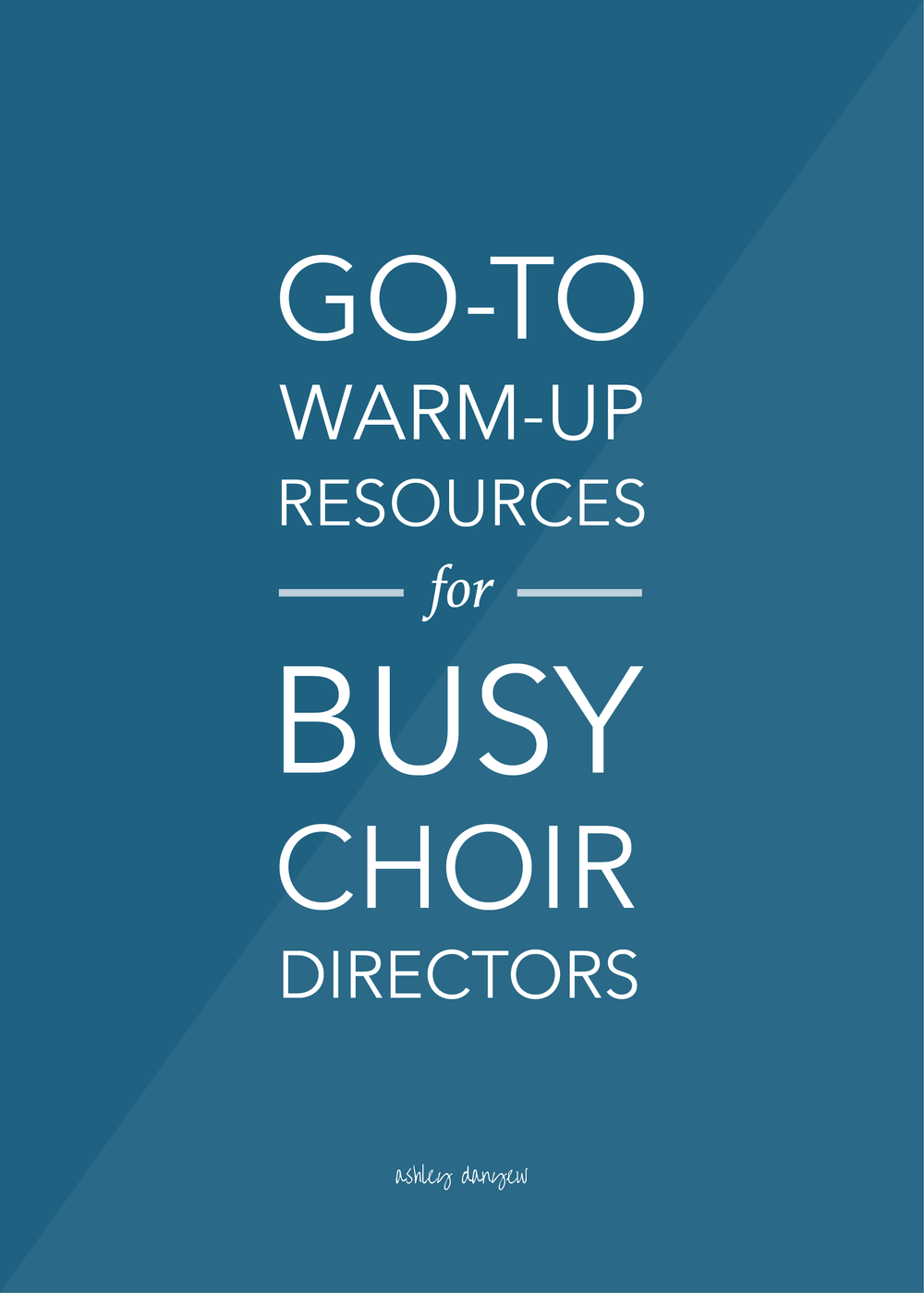 Go-To Warm-Up Resources for Busy Choir Directors