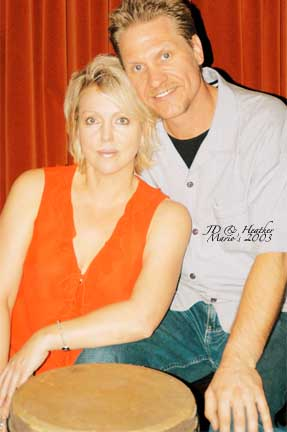 JD with Heather Sullivan @ Mandalay Bay in Las Vegas.jpg