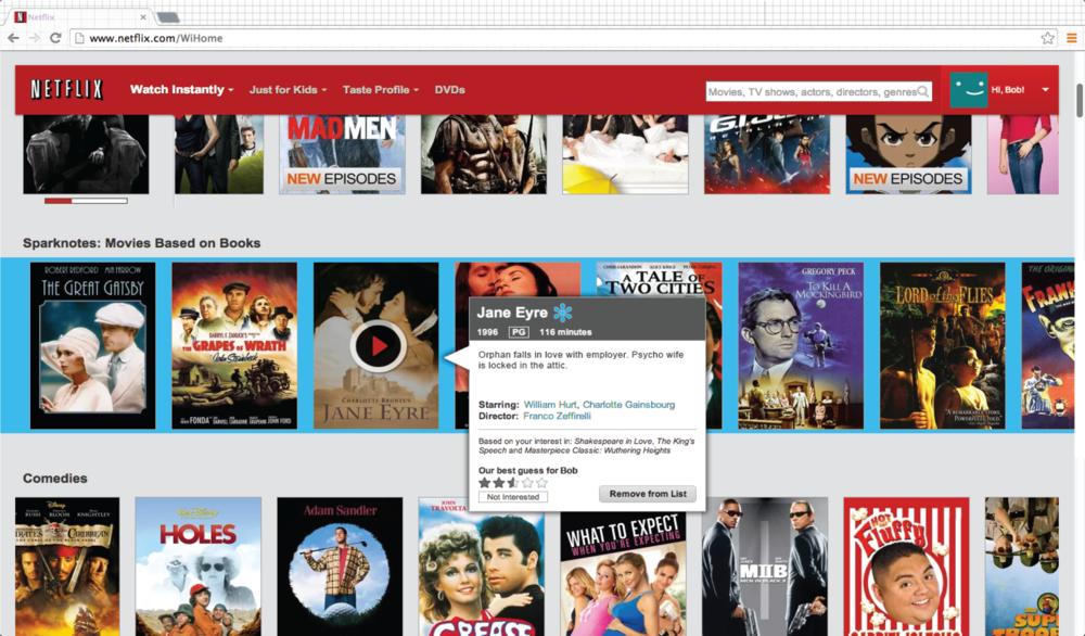 Web: Netflix