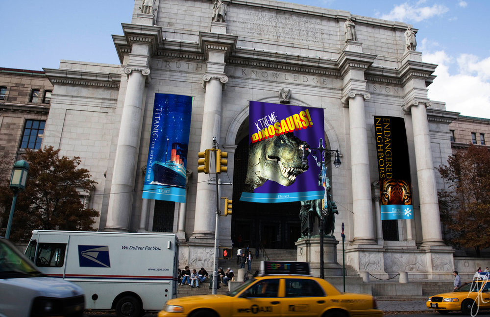 Out-Of-Home: Museum Banners
