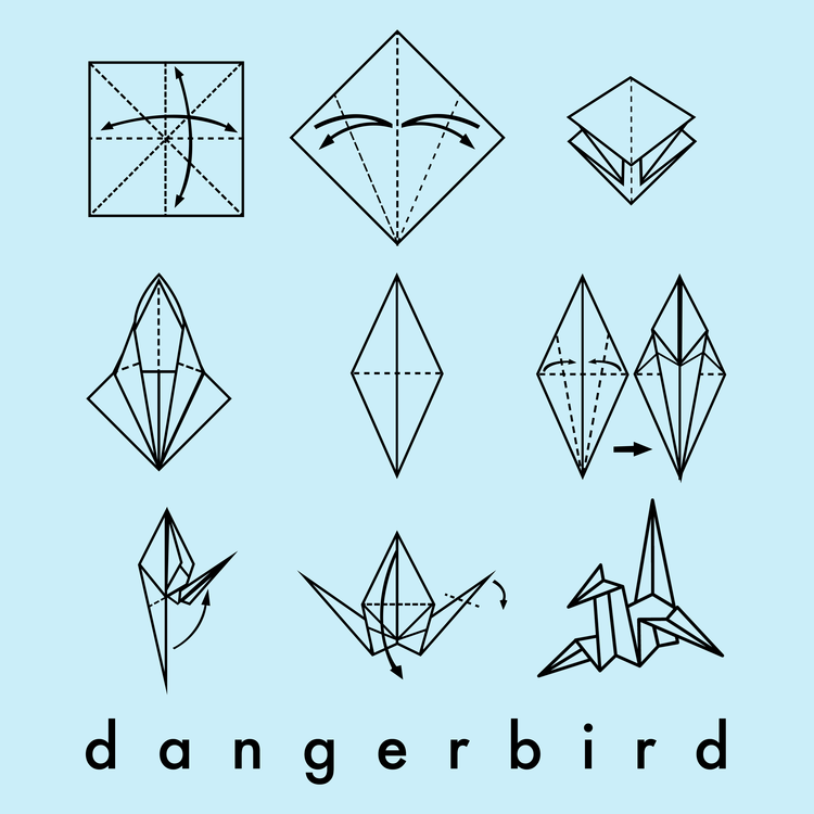 Contest entry for Dangerbird Records T-shirt design contest, 2017