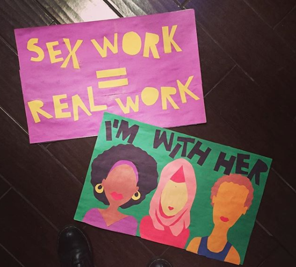 Women's March Signage