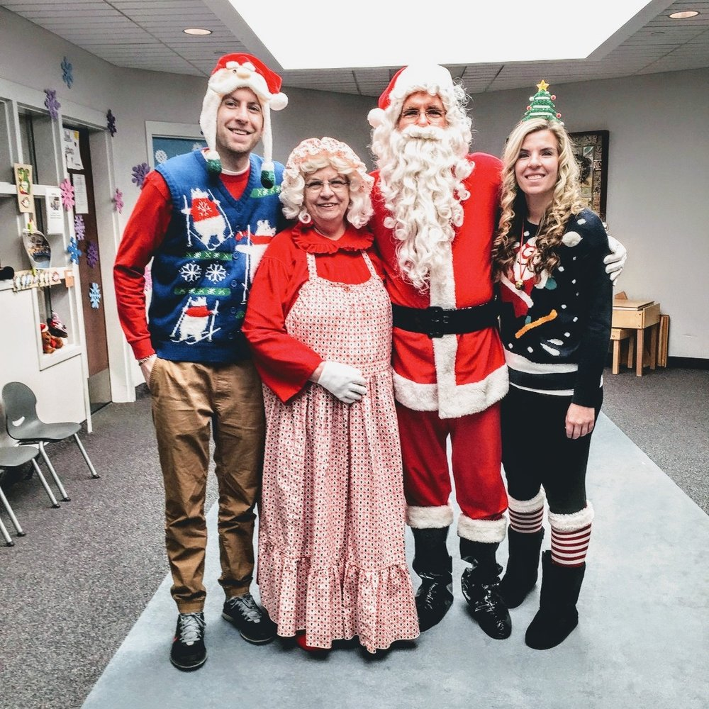 For 28 years, Joe and Rhonda having been volunteering as Mr. & Mrs. Claus to bring smiles to the children at the Barber National Institute