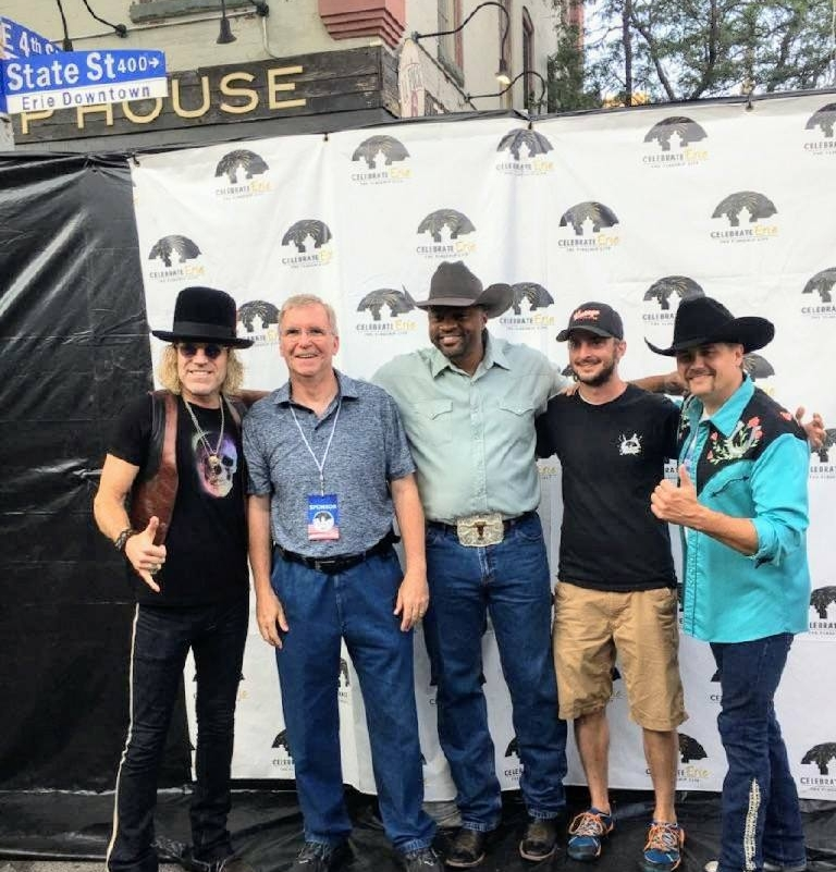 Meeting Big & Rich and Cowboy Troy at Celebrate Erie 2017