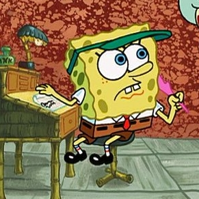Twitter profile where I answer life's big questions using only Spongebob quotes