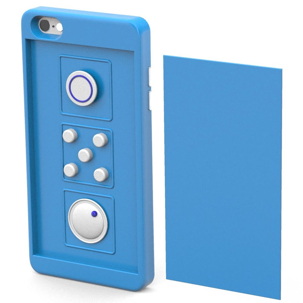 A phone case I developed that reduces stress - ironic, right?