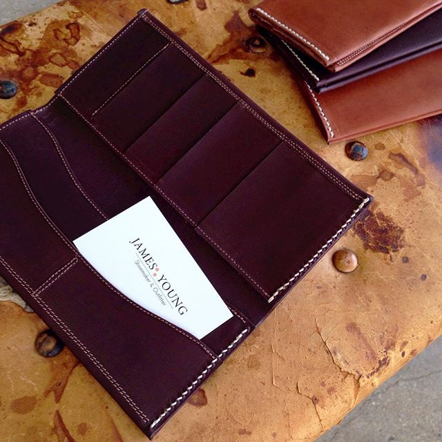 New #jamesbyoung men's portrait  wallets in #kangarooleather . Available through the door here at #Elbowrkshp or direct message me for Chrissy orders.... #menswallet #madetoorder #elbowrkshpretail #alicesprings #handmadegifts #australiandesign