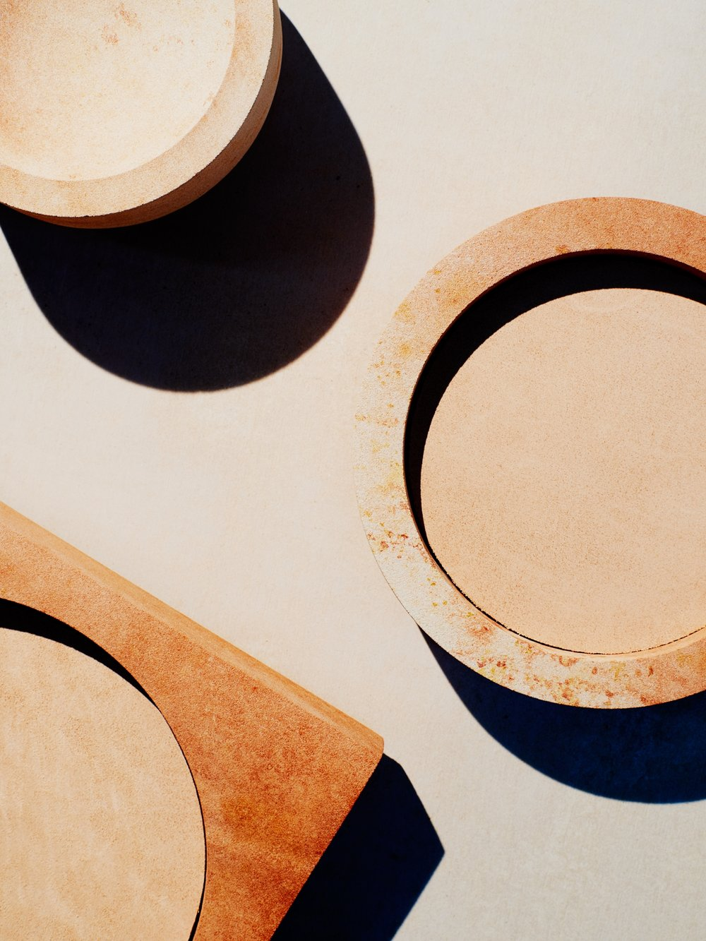 Core Collection - sandstone vessels