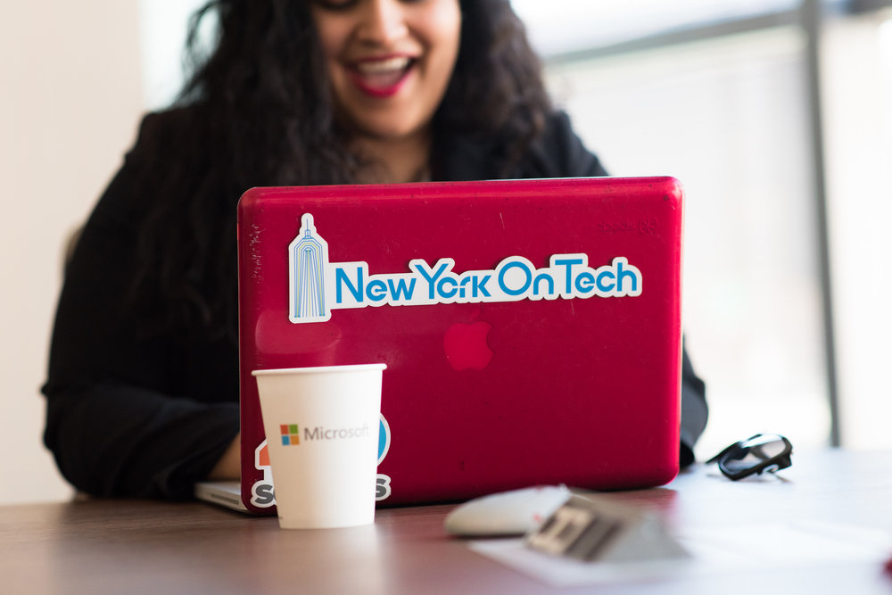 NEW YORK ON TECH  | Featured Jessica Santana, Co-Founder (#WOCinTech)