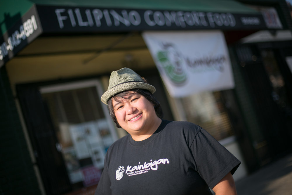 PACIFIC COMMUNITY VENTURES | Kainbigan, a female-owned Filipino restaurant and catering company in Oakland, CA