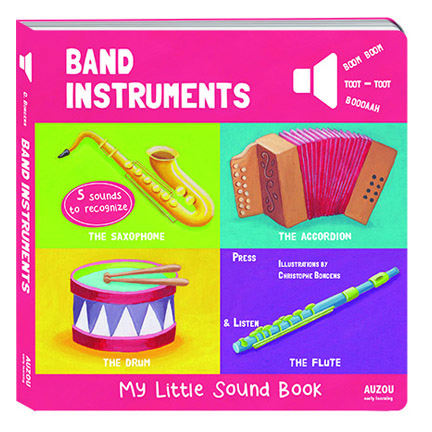 Band Instruments My Little Sound Book