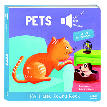 Pets My Little Sound Book