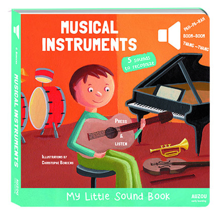 Musical Instruments My Little Sound Book