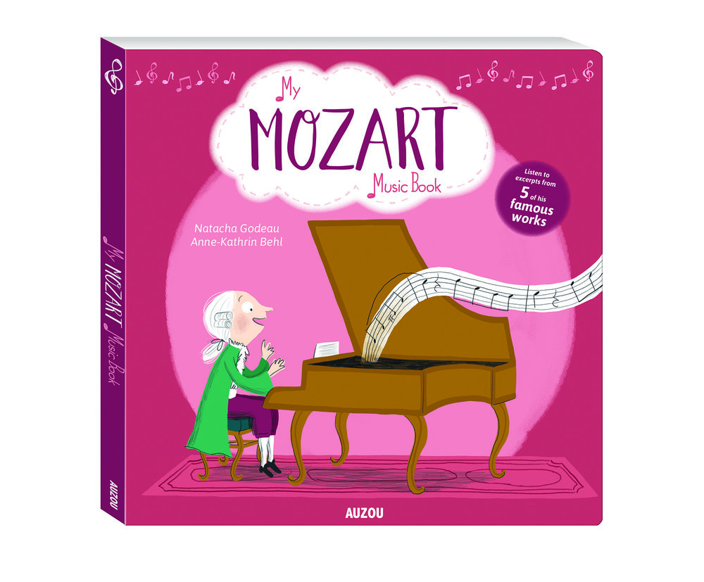 My Mozart Music Book