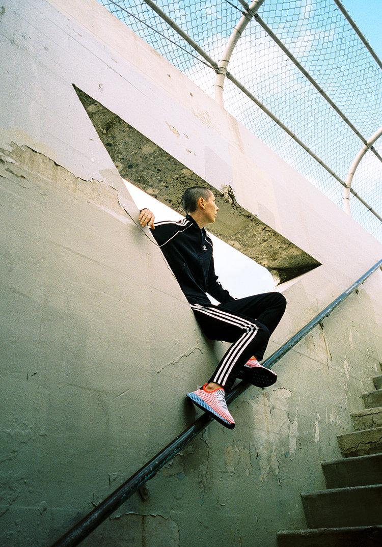 ania catherine adidas deerupt choreographer