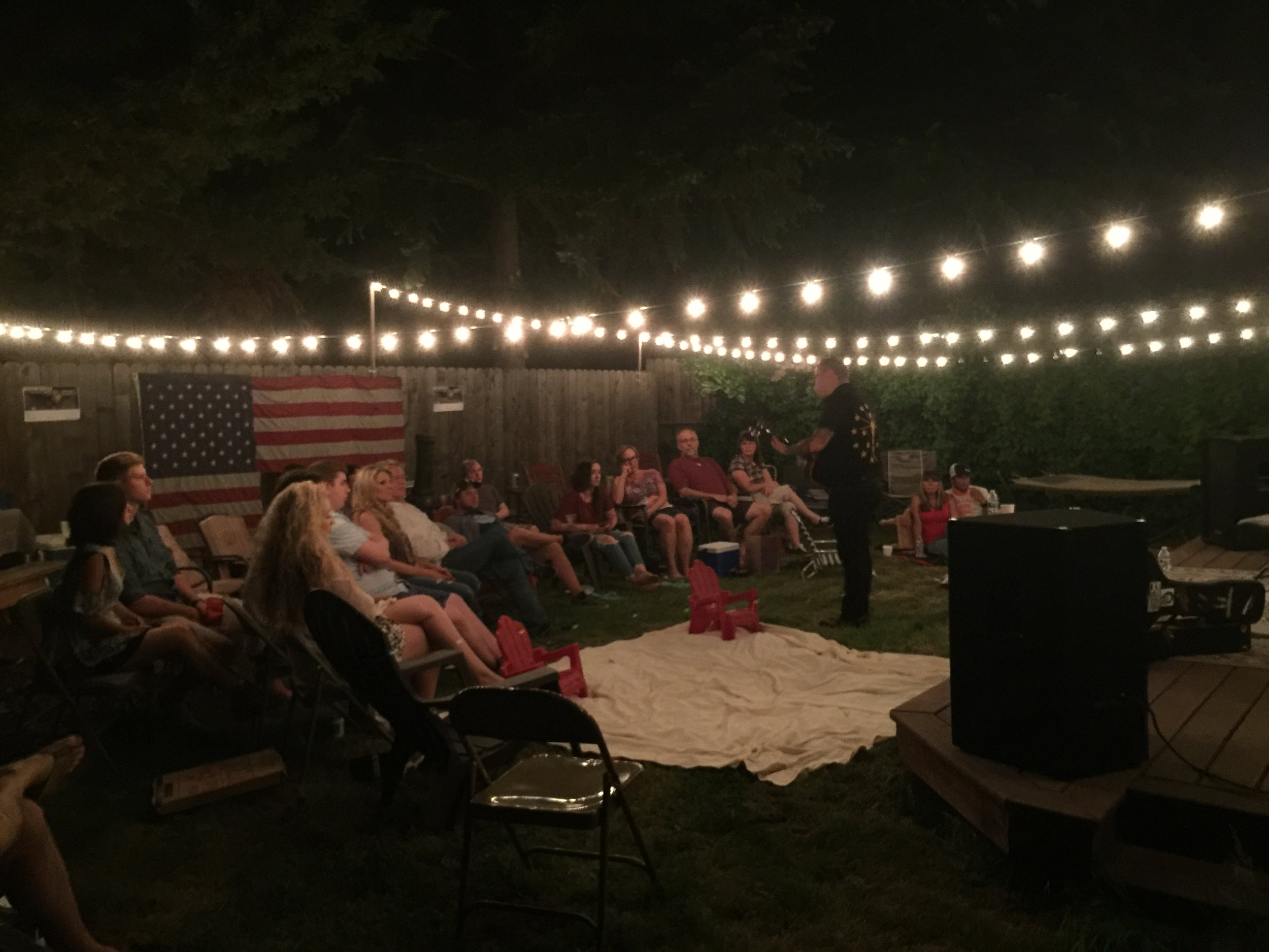 sparks house backyard concerts