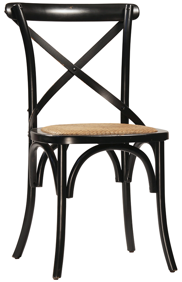 Gaston Dining Chair in Antq. Black