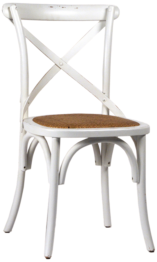 Gaston Dining Chair Antq. White