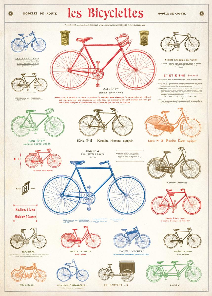 Les Bicyclettes Wrap