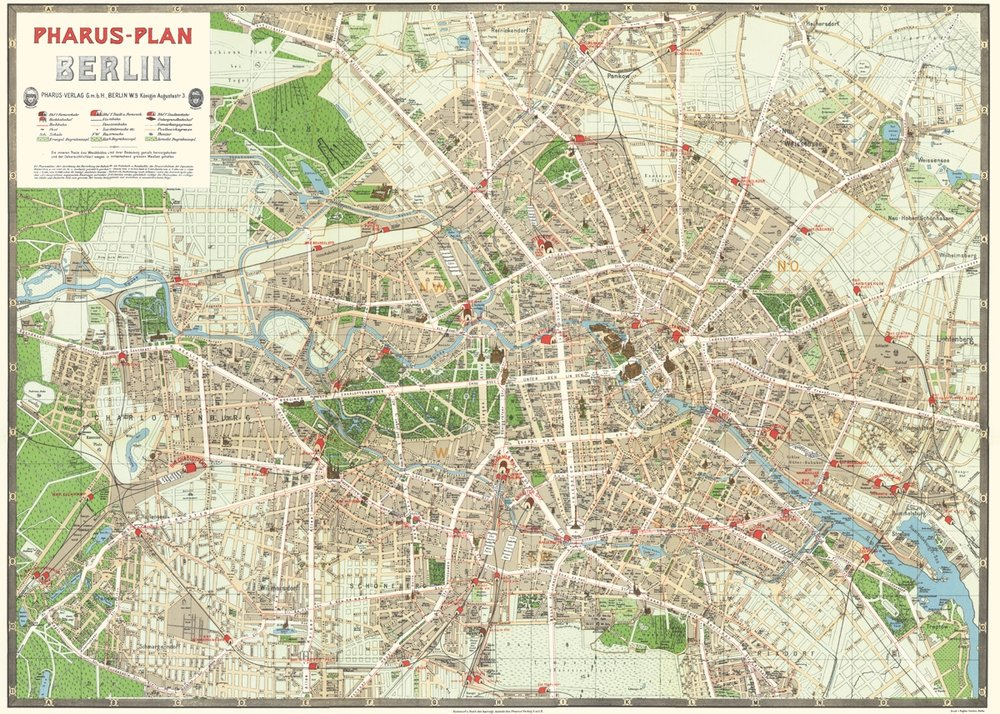 Berlin Map Wrap