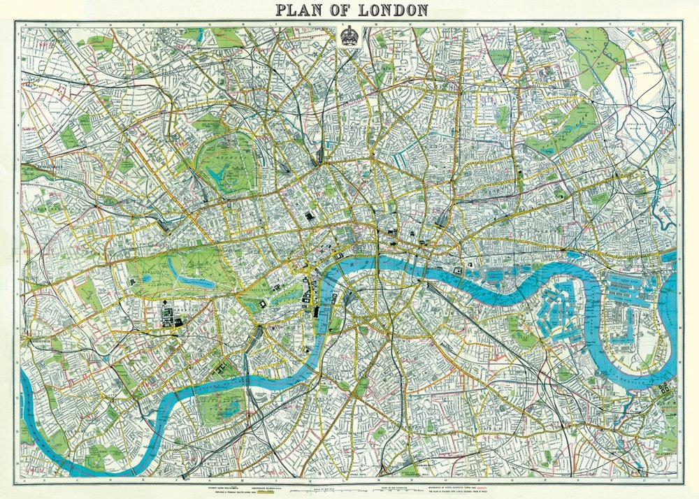 London Map 2 Wrap