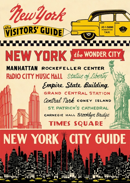New York City Guide Wrap