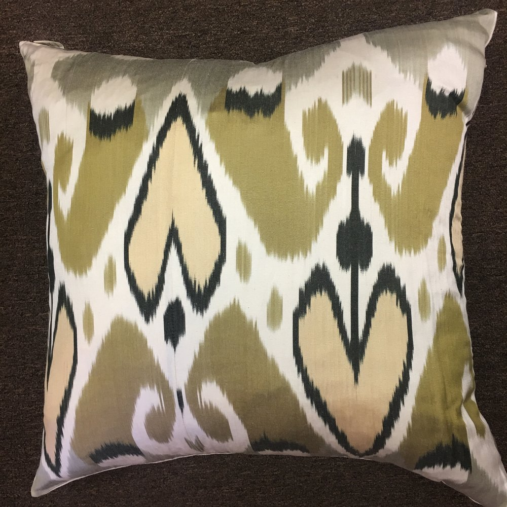 Turkish Silk Pillow $175
