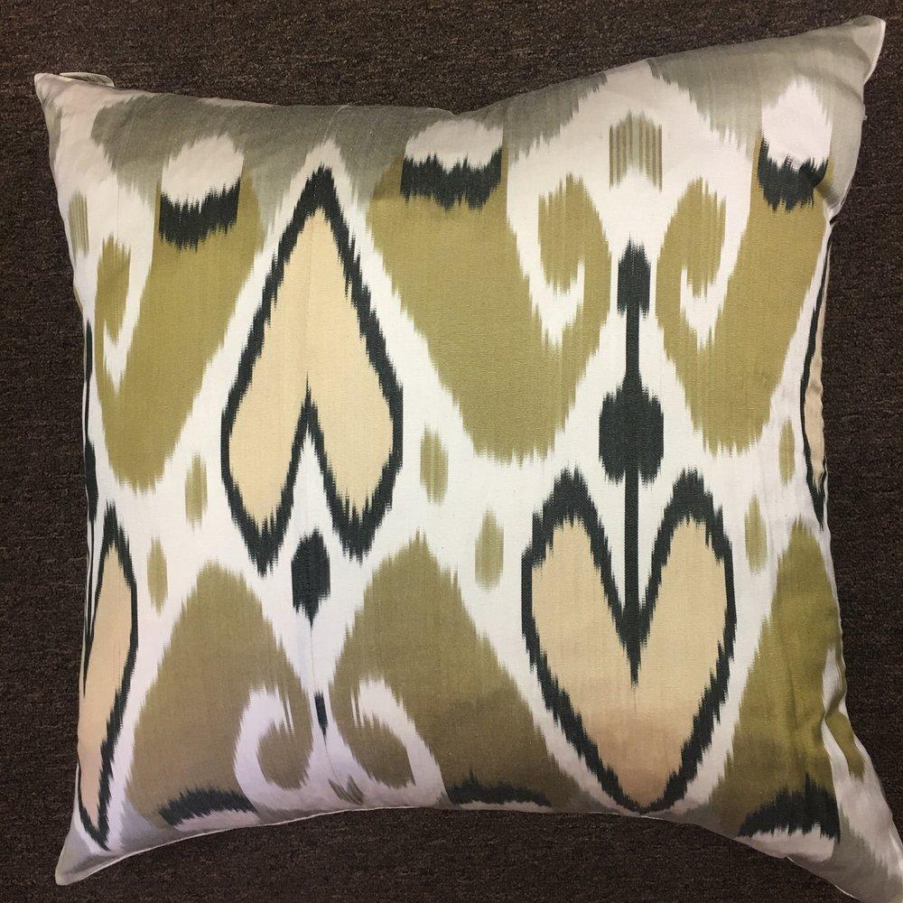 Turkish Silk Pillow $175