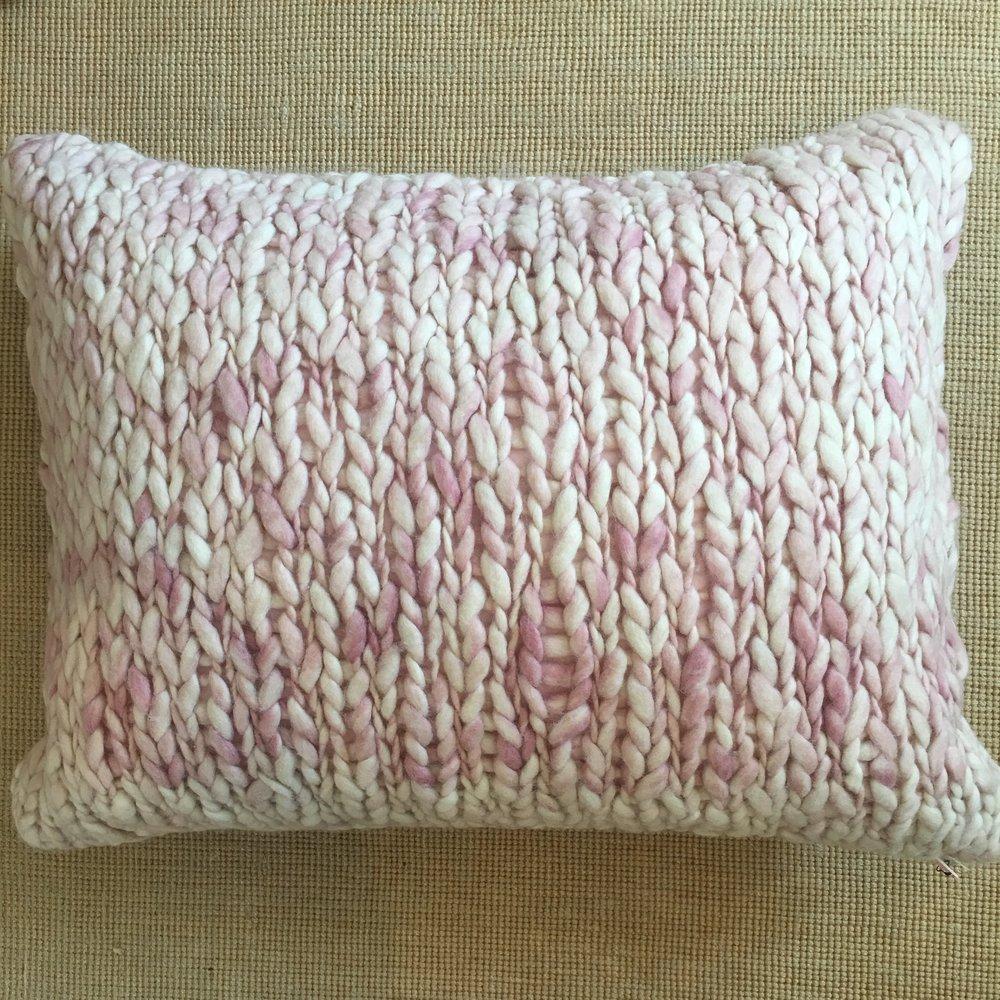 Chunky Knit Pillow $104