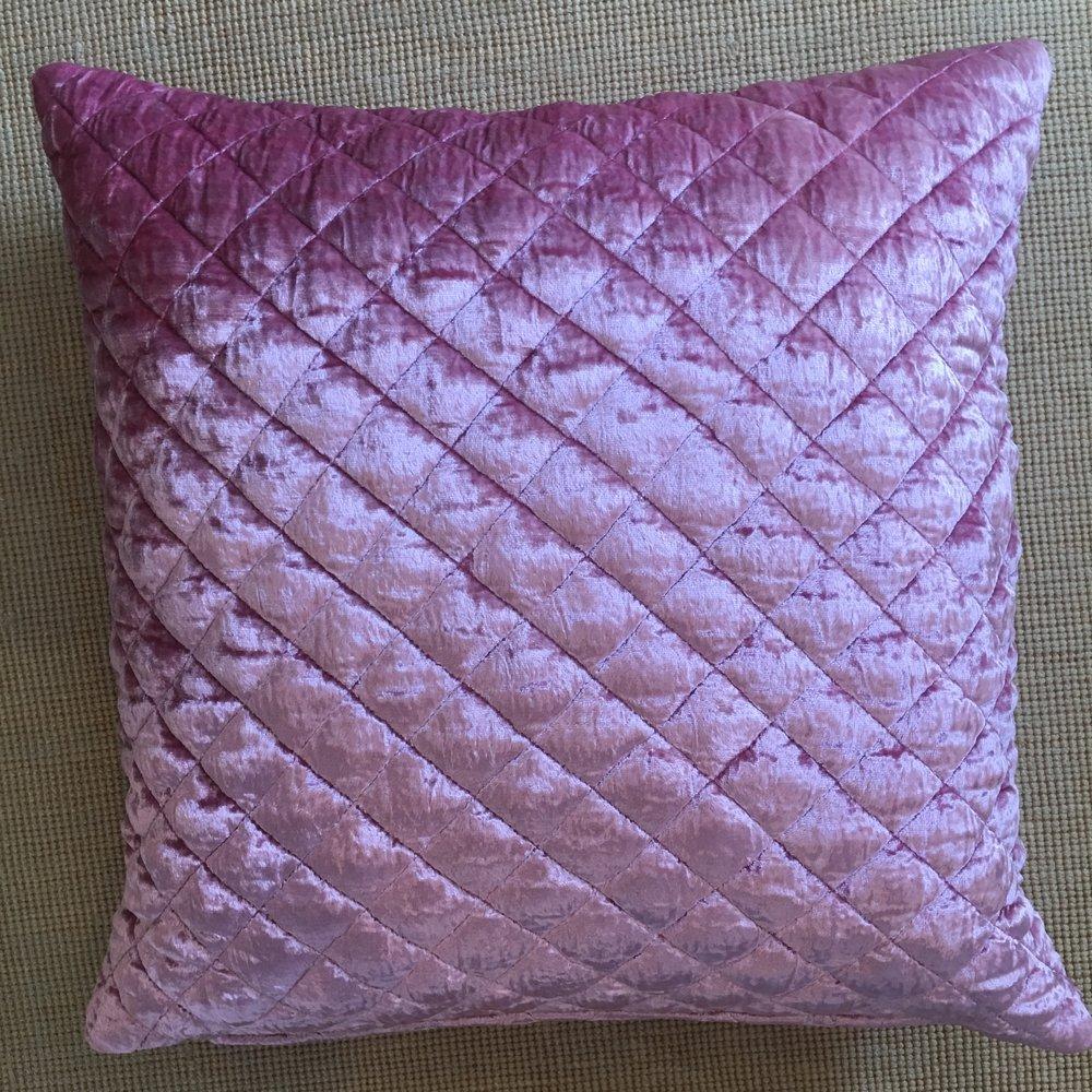Velvet Rose Pillow $125