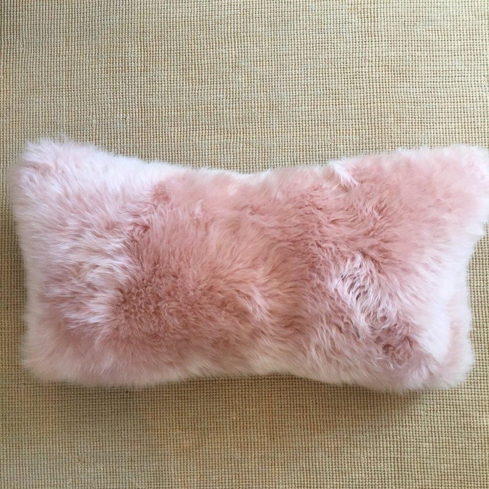 Sheep Skin Pillow $112