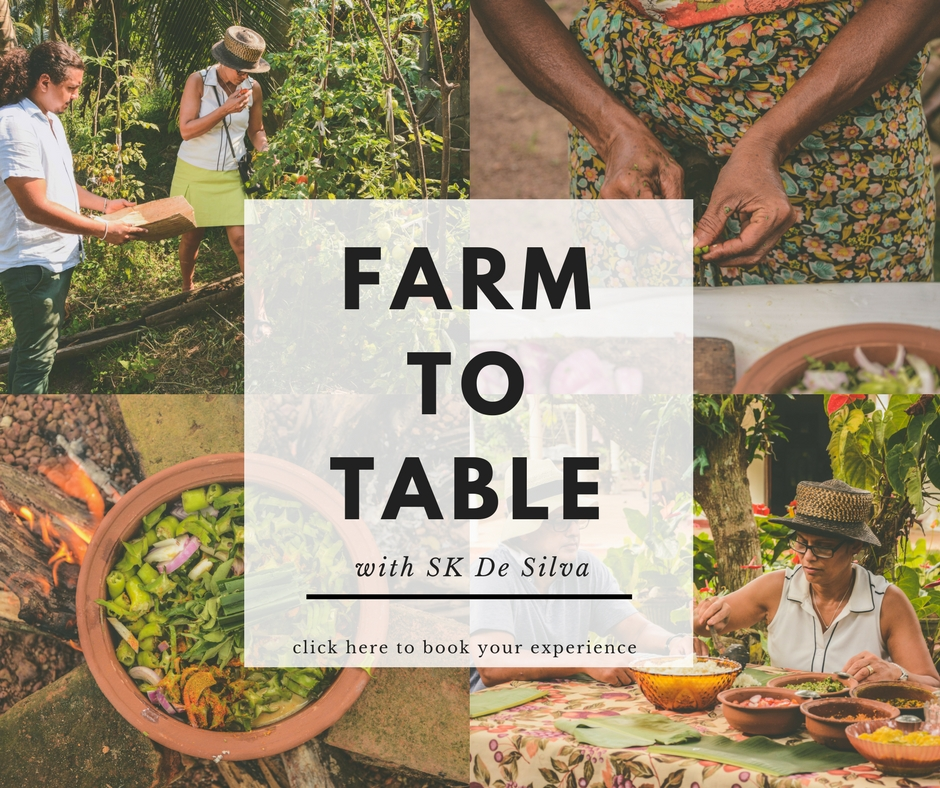 Farm to table with Sk De Silva