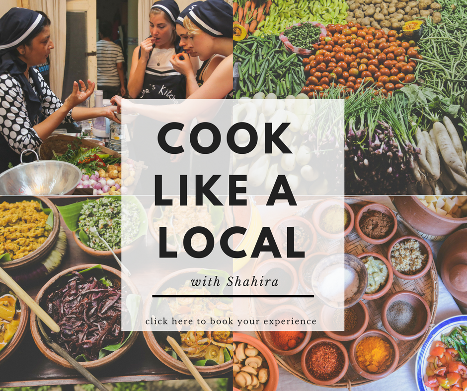 Cook like a local  Sri Lanka with Shahira