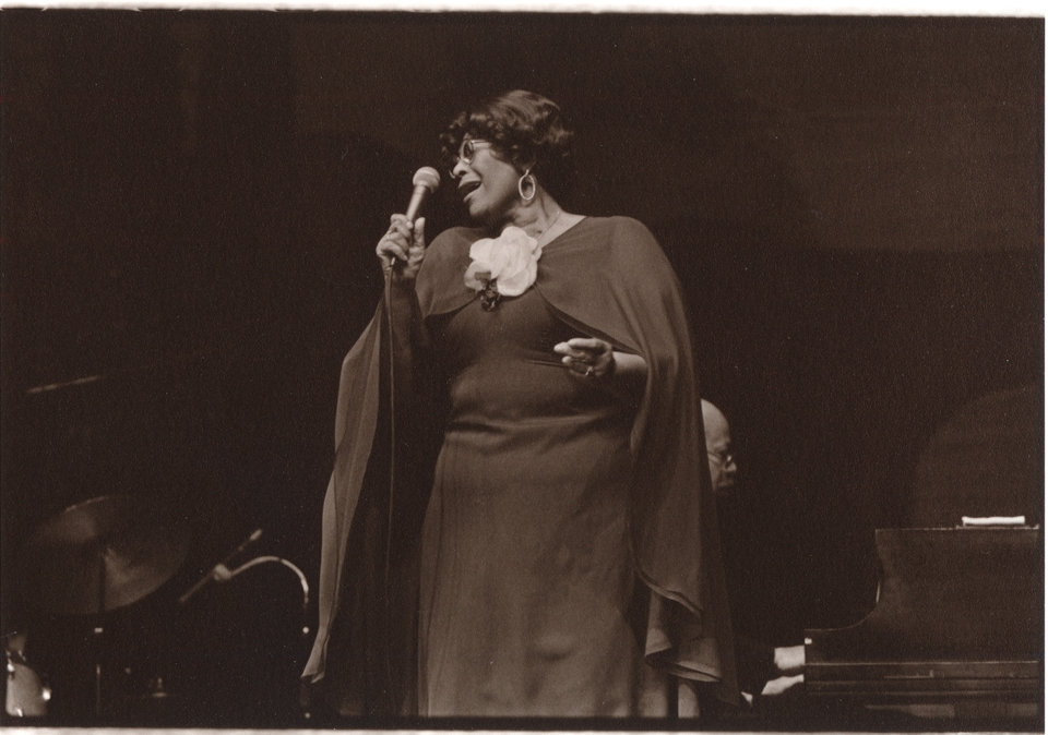 Ella At The Arena, late seventies.