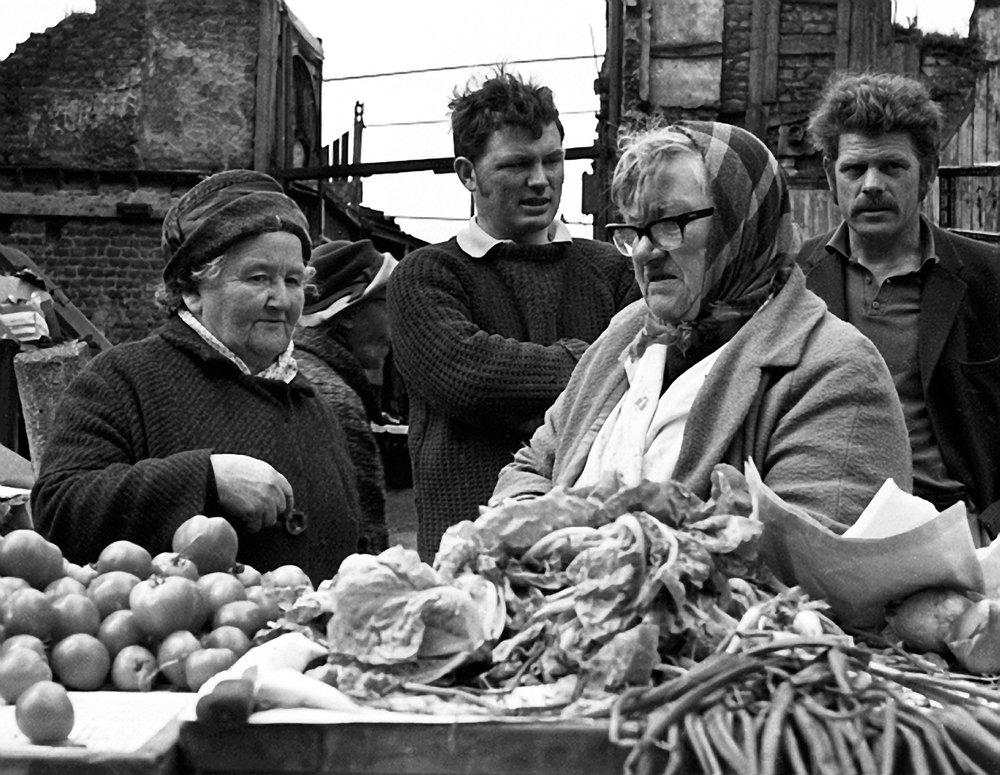 Moore Street Market Dublin, Tomatoes, 1973