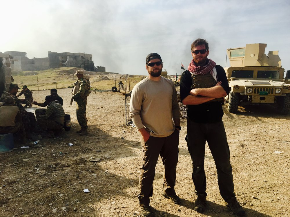 The Mattos Brothers in West Mosul, Iraq. May, 2017