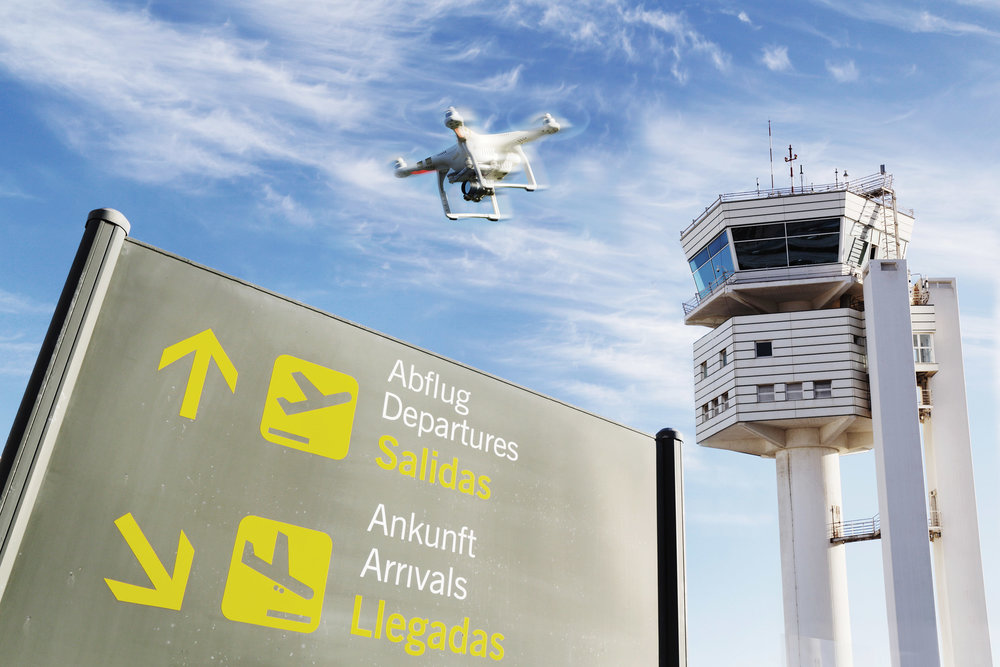 Notifies Airports   Detect Drones Entering Restricted Airspace and Prevent Collisions   Learn More