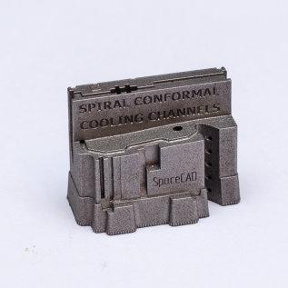 3D print metal_conformal cooling channels