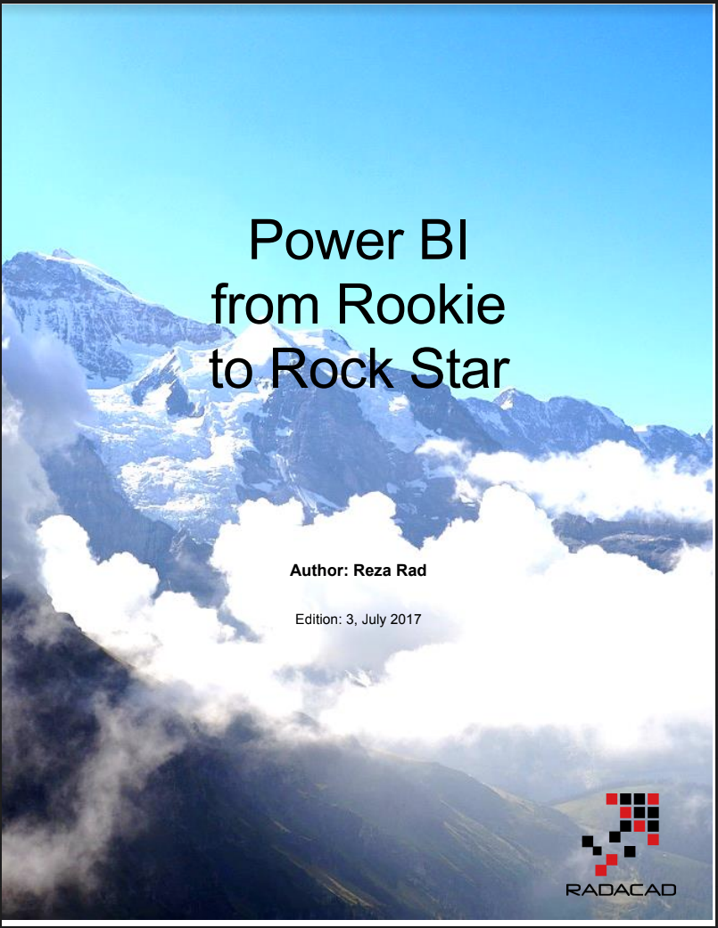 eBook Power BI From Rookie to Rock STar