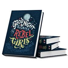 Rebel Girls  is the perfect gift for a parent raising a strong daughter & encourages girls to be goal chasers