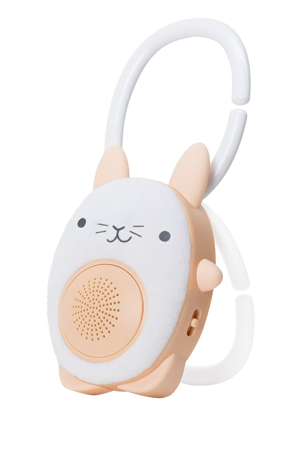 *  WavHello  SoundBud can attach to the stroller & keep your little one listening to calming sounds during a stroller workout