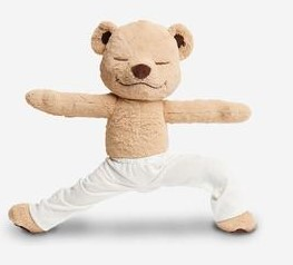 Meddy Teddy  is a unique introduction of yoga,  stretching  & mindfulness  into your home